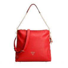Guess Destiny Red Hobo Bag