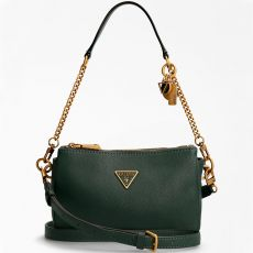 Guess Destiny Forest Green Shoulder Bag