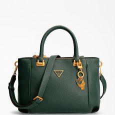 Guess Destiny Forest Green Strap Handbag