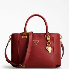 Guess Destiny Red Strap Handbag
