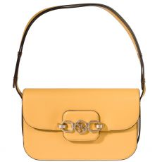 Guess Hensely Yellow Shoulder Bag