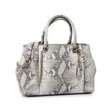 Guess Holly Python Print Shoulder Bag