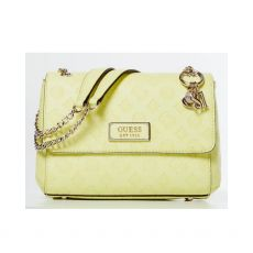 Guess Logo Love Lime Crossbody