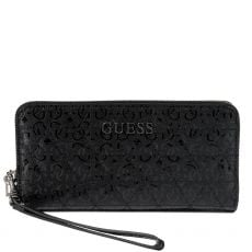Guess Noelle Quilted Black Maxi Wallet
