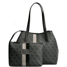 Guess Vikky 4g Logo Black Tote Bag