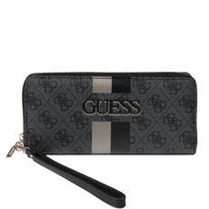 Guess Vikky 4g Logo Black Wallet