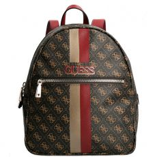 Guess Vikky 4g Logo Brown Backpack