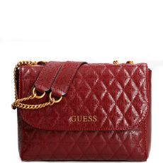 Guess Wessex Wine Convertible Crossbody