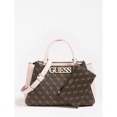 Guess Ambrose Brown Handbag