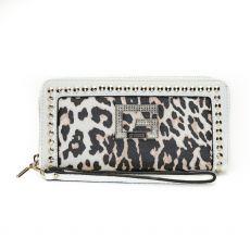 Guess Bling Leopard Print Wallet