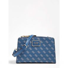 Guess Tyren Blue Crossbody Bag