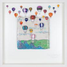 Rebeka Kahn 'Life is an Adventure'  53cm x 53cm