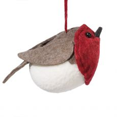 Hanging Robin Red Breast Decoration