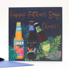 Happy Father's Day Cheers Card