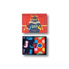 Happy Socks 2-Pack Father's Day Gift Set