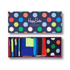 Happy Socks 4-Pack New Classic Men's Sock Gift Set