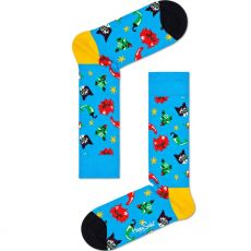 Happy Socks Chili Cat Socks Product Shot