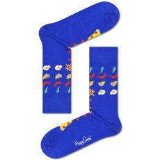 Happy Socks Pizza Invaders Men's Socks