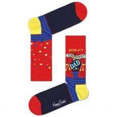 Happy Socks World's Strongest Dad Men's Socks