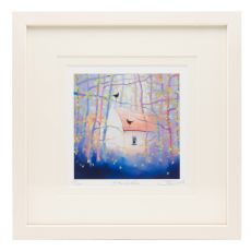 Sharon McDaid Home Birds 12 x 12 Frame