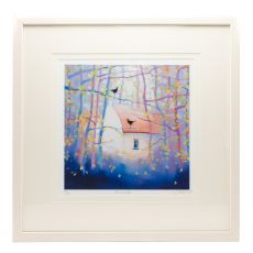 Sharon McDaid Home Birds 18 x 18 Frame