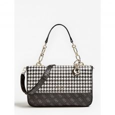 Guess Logo Rock Black & White Bag