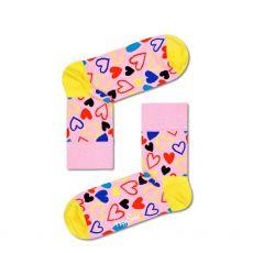 Happy Socks I Heart U Half Crew Ladies Socks