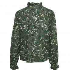 InWear Barbel Ditsy Print Blouse Green