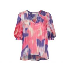 InWear Jordan Pink Watercolour Blouse