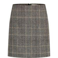 InWear Tuva Check Wool Skirt Check