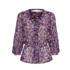 InWear Florizza Purple Floral Top