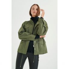 InWear Yuma Military Green Draw String Jacket