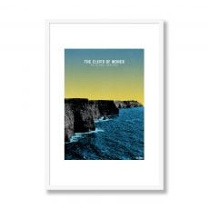 Jando Cliffs of Moher Small Framed