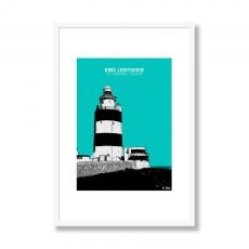 Jando Hook Lighthouse Small Framed