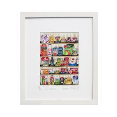 "Simone Walsh Framed ""Irish Larder"""