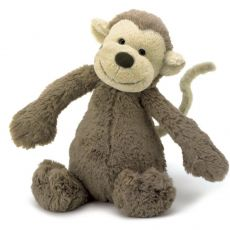 Jellycat Medium Bashful Monkey