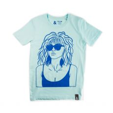 Jill & Gill Debbie Harry Blue T-Shirt