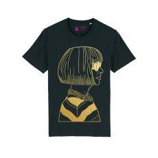 Jill & Gill Anna Wintour Black T-Shirt