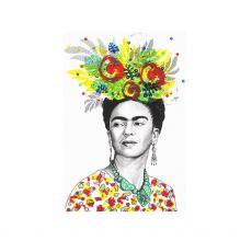 Jill & Gill Frida Kahlo Fine Art Print
