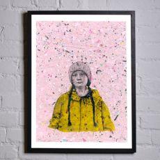 Jill & Gill Greta Framed Print