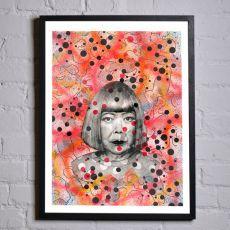 Jill & Gill Yayoi Framed Print