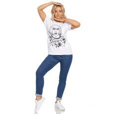 ill & Gill Yayoi Kusuma White T-Shirt model