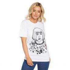 ill & Gill Yayoi Kusuma White T-Shirt close up