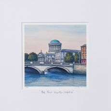 Jim Scully The Four Courts 10x10 Square Mount