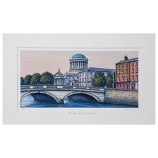 Jim Scully The Four Courts 20x12 Landscape Mount