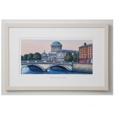 Jim Scully The Four Courts 21x14 Landscape Frame