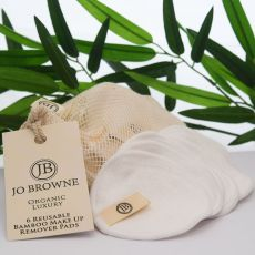 Jo Browne Organic Make Up Removal Wipes