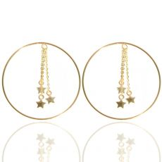 Jo Harpur Hoopy Star Earrings