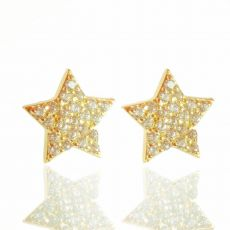 Jo Harpur Medium Star Studs