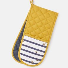 Joules Bee & Stripe Double Oven Glove